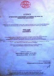 Certification 2012/2013
