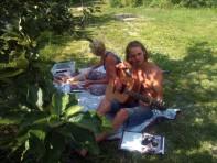 Little break for Jorinde & René :)