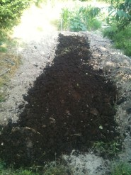 Butte - apport de compost
