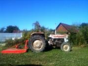Tractor sous le soleil
