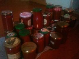 Conditionnement coulis de tomates