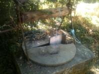 Réparation temporaire du puits