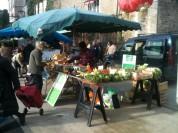 Marie au marché