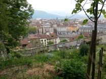 Jardin potager, verger, et point de vue imprenable sur Grenoble.