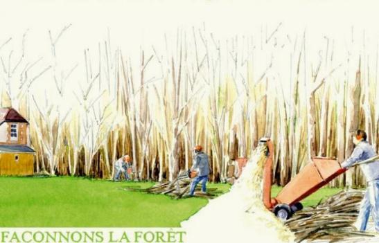 micro ferme - microferme - micro-ferme - lisière de forêt