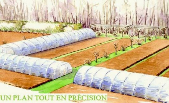 micro ferme - microferme - micro-ferme - élaboration d'un design permaculturel
