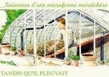 microferme maraîchère Bourdaisière - semis de plantes aromatiques et de tomates sous serre