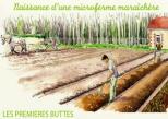 microferme maraîchère Bourdaisière - premières buttes