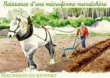 microferme maraîchère Bourdaisière - traction animale